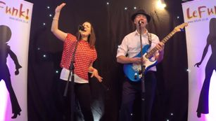 Manchester Wedding Band LeFunk! Acoustic Duo Party Duo